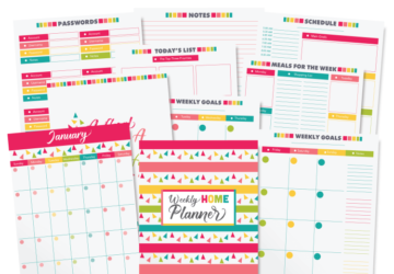 15 Life Changing Organization Printable Ideas - Printable Ideas, Organization Printable Ideas, diy organization projects, diy organization hacks