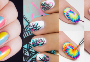 15 Cool Nail Art Ideas and Tutorials (Part 1) - Nail Art Ideas and Tutorials, nail art ideas, Cool Nail Art Ideas and Tutorials, Cool Nail Art Ideas