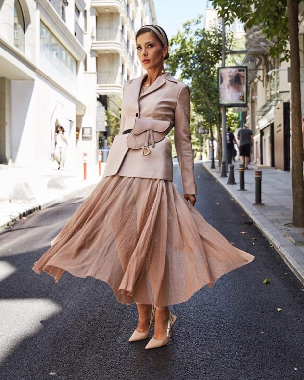 Midi Skirt Outfits   New Ways to Wear Midi Skirts