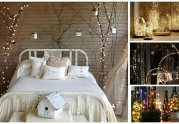 15 Cool String Lights DIY Ideas (Part 1) - String Lights DIY Ideas, string lights, diy String Lights, DIY Lighting Ideas