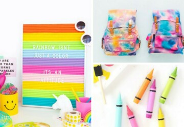15 Creative and Cute DIY Back to School Ideas (Part 2) - DIY Back to School Organization Ideas, DIY Back to School Ideas, DIY Back to school