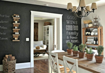 8 Best Kitchen Wall Decor Ideas to Spice Up Your Cooking - wood, wine rack, wall, prints, photo, kitchen, ideas, Hangers, gallery wall, decor, custom, cup holder, chalkboard, canvas