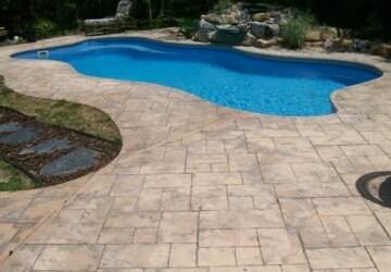 How You Can Use Stamped Concrete on Your Property - sidewalk, pool desk, outdoors, garden, driveway, concrete