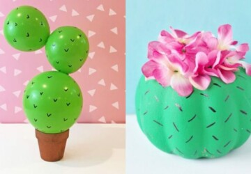 15 Creative Cactus Crafts and Art Projects (Part 2) - DIY Cactus-Inspired Projects, DIY Cactus, Cactus Crafts