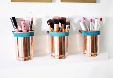 15 DIY Makeup Storage and Organization Ideas (Part 2) - DIY Makeup Storage and Organization Ideas, diy makeup storage, DIY Makeup Organization Ideas