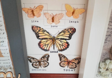 15 DIY Butterfly Crafts For Home Decor (Part 1) - DIY Butterfly Crafts For Home Decor, DIY Butterfly Crafts, DIY Butterfly, Butterfly Crafts for Kids, Butterfly Crafts