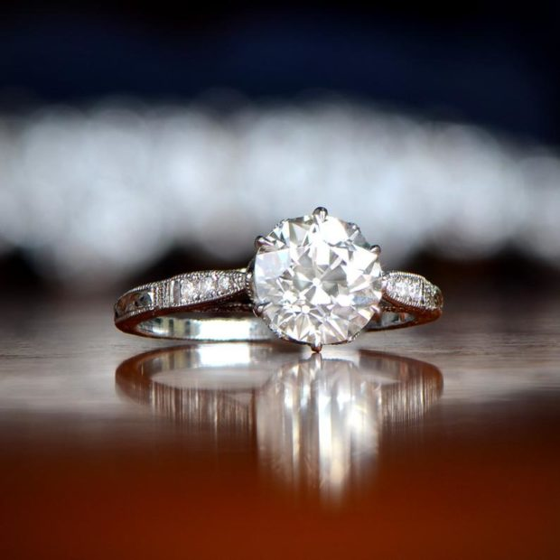 Why You Need an Antique Engagement Ring - ring, jewelry, heirloom, antique