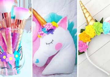 15 Majestic DIY Unicorn Craft Ideas (Part 1) - diy Unicorn Party, DIY Unicorn Ideas, DIY Unicorn Craft Ideas, DIY Unicorn