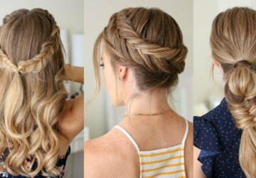 15 Cool Braided Back To School Hairstyles (Part 1) - Braided Hairstyles, Braided Back To School Hairstyles, Back To School Hairstyles