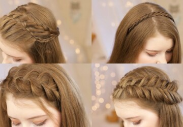15 Cool Braided Back To School Hairstyles (Part 2) - Braided Hairstyles, Braided Back To School Hairstyles, Braided Back To School, Back To School Hairstyles