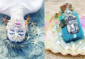 15 Magical Mermaid Crafts (Part 2) - Mermaid Crafts, mermaid, diy summer projects, diy Mermaid Crafts