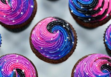 15 Galaxy-Themed Desserts - Galaxy-Themed Desserts, Galaxy Crafts, Galaxy, Desserts