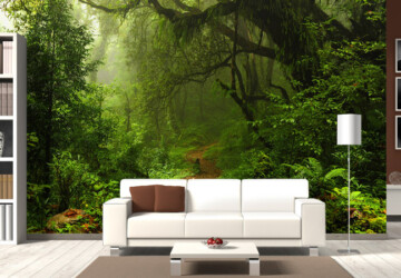 Nature-Inspired Décor Ideas For Every Home - stones, sticks, nature inspired, houseplants, home decor, green, fossils, beach