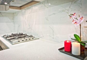 Revamp Your Kitchen Backsplash Without Spending A Fortune - update, tips, remodel, kitchen, ideas, diy, Backsplash, acrylic