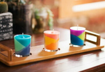15 Cool DIY Candle Ideas and Tutorials - DIY candles, DIY Candle ideas, DIY Candle