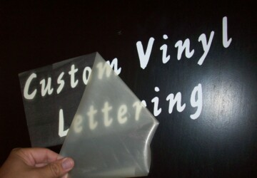 Things To Know About Vinyl Lettering - vinyl, letters, lettering, glass, color, apply