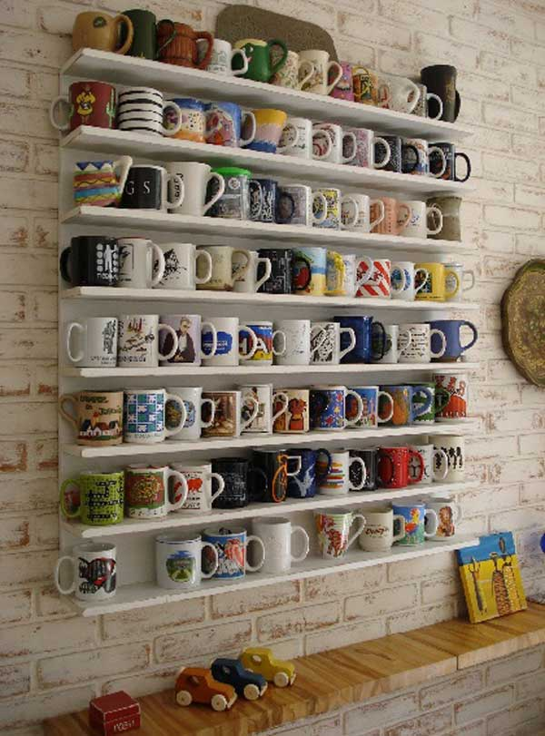 7 Pretty Ways to Store Your Mugs