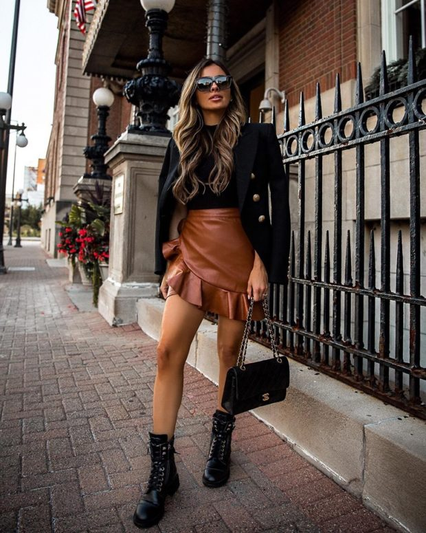 Mini Skirt Outfits You Need to Re Create This Fall