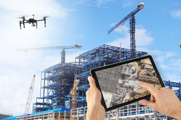Drones in Construction Safety: How Aerial Imaging Protects Jobsites against Developing Risks - transportation, safety, risks, jobsites, investigation, inspection, equipment, drones, construction
