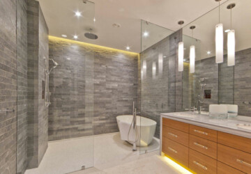 10 Bathroom Design Trends set to Make a Big Splash in 2020 - trends, terrazzo, Standalone Tubs, Shaped Tiles, Bathroom Design Trends, bathroom