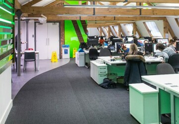 Open Space Offices - Boon or Bane? - space office, productivity, privacy, open space, office, employees, concept