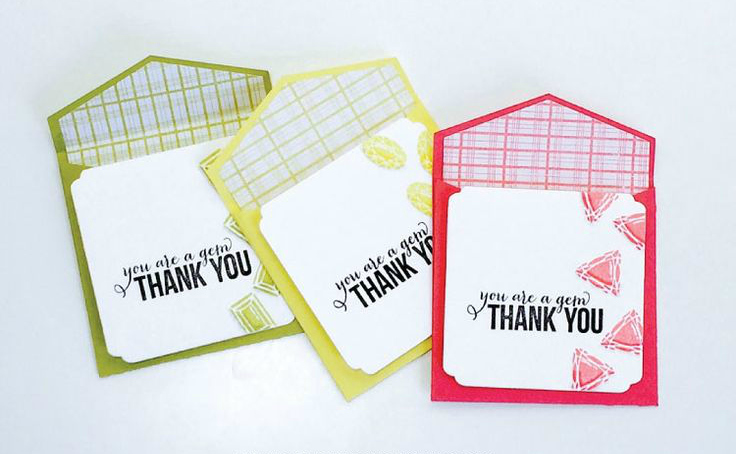 15 Diy Ideas For Thank You Cards
