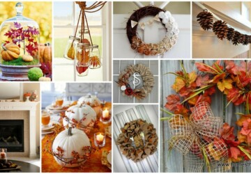 Get Your Home Ready for Fall: 15 Amazing DIY Decor Ideas (Part 1) - DIY Fall Wreaths, diy fall home decor, DIY Fall Decorations, DIY Fall Decor Ideas, diy fall