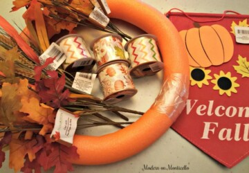 DIY Fall Wreaths - Easy Ideas for Autumn Wreaths - Fall Wreaths, DIY Wreaths Ideas, DIY Wreaths, DIY Fall Wreaths, diy fall wreath, DIY Fall Decor Ideas, diy fall decor