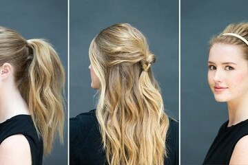 15 Five-Minute Hairstyles For Busy Mornings - Quick and Easy Hairstyles, Five-Minute Hairstyles For Busy Mornings, Five-Minute Hairstyles, easy hairstyles