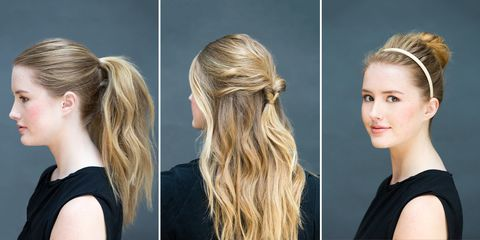 Amazing 15 Five Minute Hairstyles For Busy Mornings Natural Hairstyles Runnerswayorg