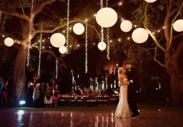15 Romantic Wedding Lighting Ideas - Wedding Lighting Ideas, Romantic Wedding Lighting Ideas, Lighting Ideas, DIY Outdoor Lighting Ideas