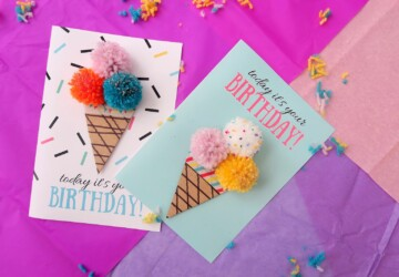 15 Best DIY Birthday Cards - DIY Birthday Cards, DIY Birthday Card, DIY Birthday, Birthday Cards, birthday card