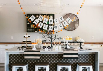 15 Chic Adult Halloween Party Ideas (Part 1) - Halloween Party Ideas, Halloween Party Games, Halloween Party Food, diy Halloween party