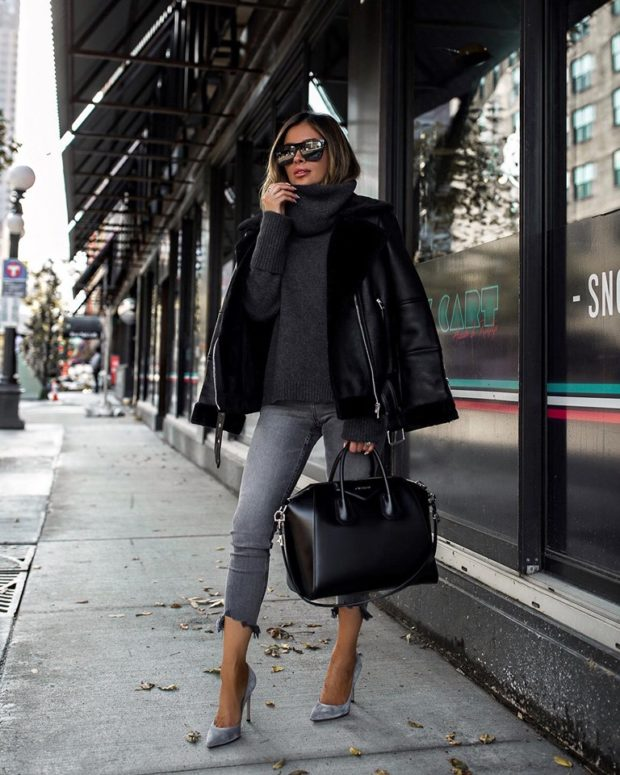 The Coziest Sweater Outfits for Fall