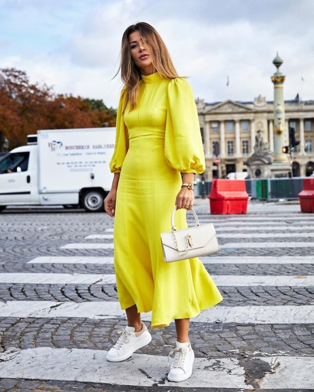 10 Ways to Style Your Maxi and Midi Dresses for Fall
