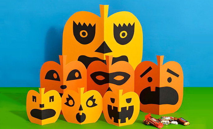 15 Cute And Easy Halloween Pumpkin Crafts For Kids Part 2