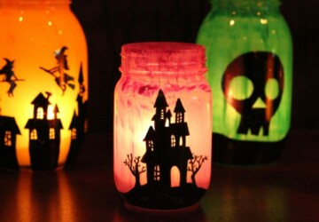 15 Cute DIY Halloween Mason Jars (Part 2) - Halloween Mason Jars, DIY Mason Jars, diy halloween mason jars, DIY Halloween Mason Jar