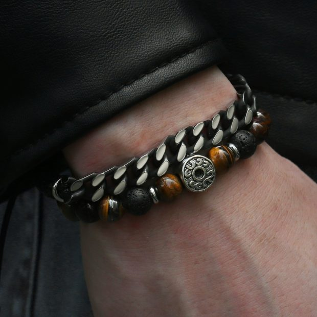 Men's Bracelets Trend - popular, men, jewelry, guys, fashion, bracelet, beaded