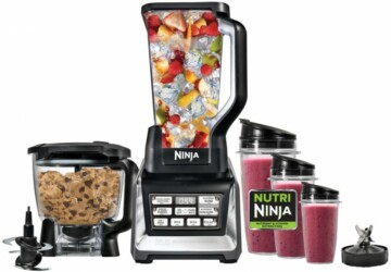 5 Unexpected Things You Can Do With a Ninja Blender - waffles, sorbet, scrambled egg, Protein Shakes, pancakes, omelettes, ninja blender, condiments