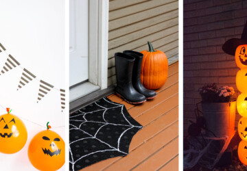 16 Easy Dollar Store DIY Halloween Decor You Should Try - Dollar Store DIY Halloween Decor, DIY Outdoor Halloween Decoration, diy Halloween decorations, DIY Halloween Decor
