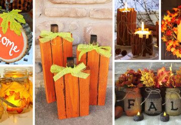15 Easy DIY Home Decor Ideas for Fall (Part 2) - DIY Home Decor Ideas for Fall, DIY Home Decor Ideas, DIY Fall Decorations, DIY Fall Decor Ideas, diy fall decor