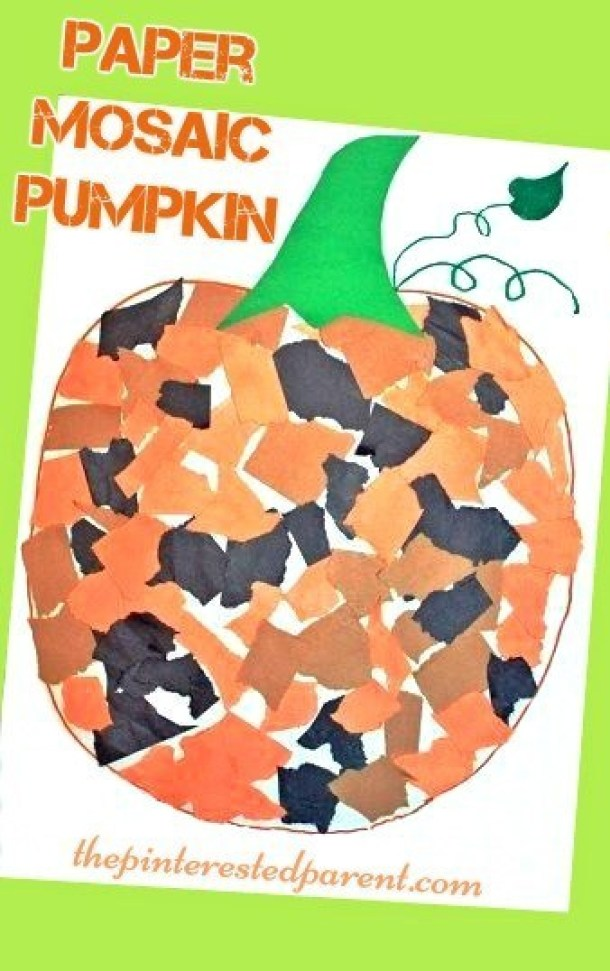15 Cute and Easy Halloween Pumpkin Crafts for Kids (Part 2) - Pumpkin Crafts for Kids, Not Scary Halloween Crafts for Kids, Halloween Pumpkin Crafts for Kids, Halloween Crafts for Kids