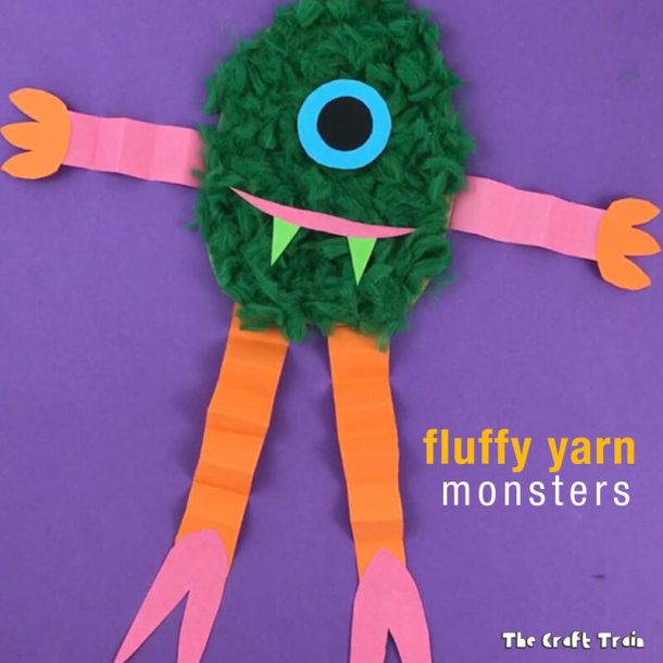 15 Not So Scary Monster Crafts For Kids (Part 2)