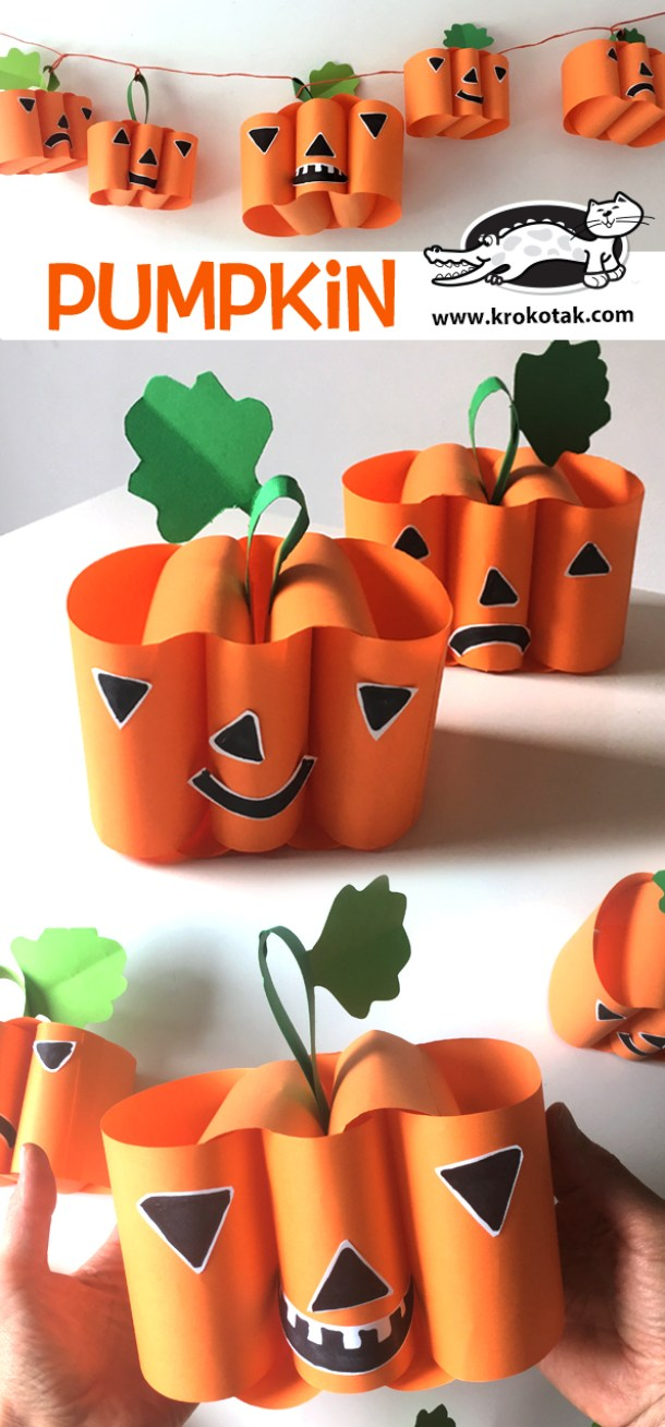15 Simple but Not Scary Halloween Crafts for Kids (Part 2) - Not Scary Halloween Crafts for Kids, Halloween Crafts for Kids, halloween crafts, DIY Halloween Crafts