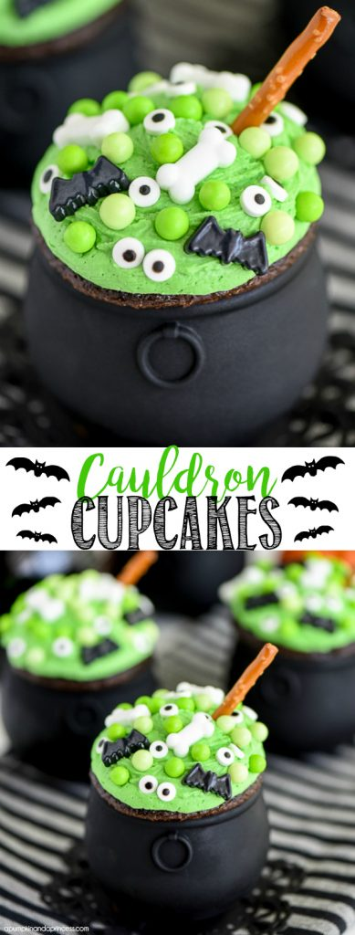 15 Cute and Spooky Halloween Cupcakes (Part 2) - Halloween Dessert, halloween cupcakes