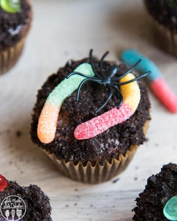 15 Cute and Spooky Halloween Cupcakes (Part 1) - Halloween Dessert, halloween cupcakes