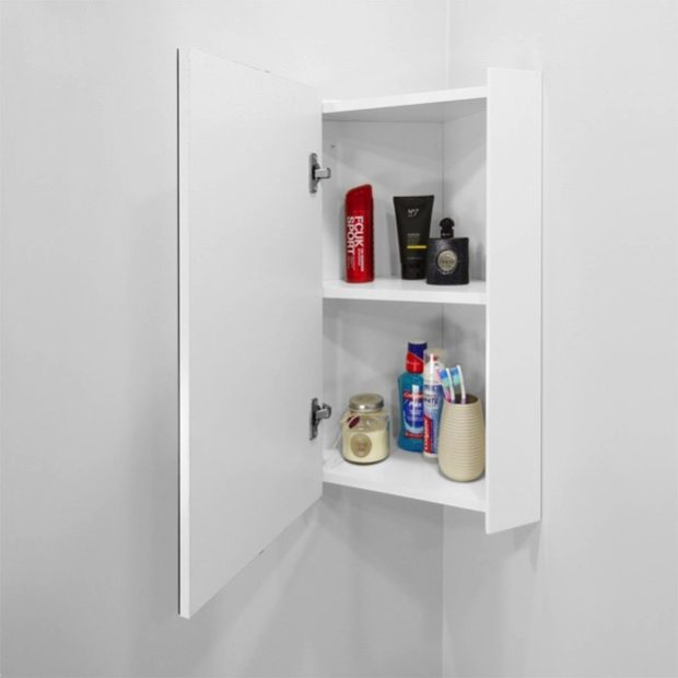 DIY Sliding Bathroom Cabinets Ideas