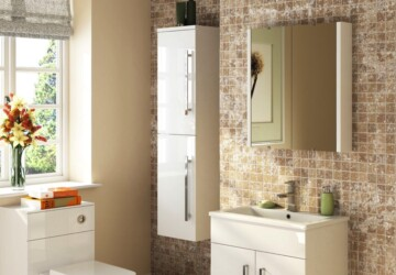 DIY Sliding Bathroom Cabinets Ideas - Storage, sliding, diy, cabinets, bathroom