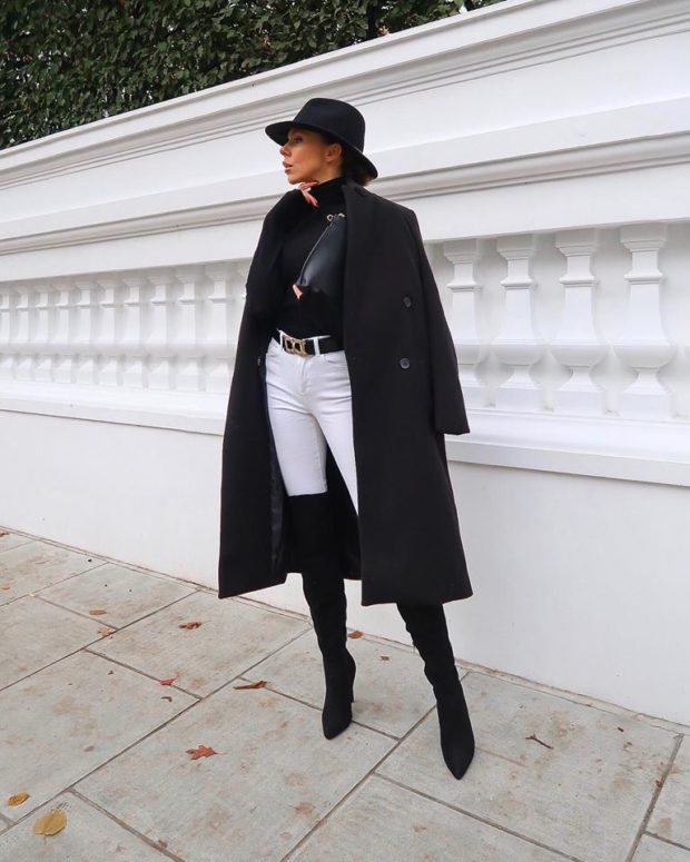 15 Outfit Ideas For This Tricky Transition Fall Winter Weather