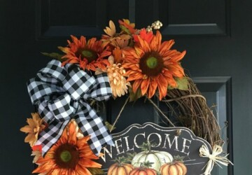 15 Farmhouse and Rustic DIY Thanksgiving Wreaths - DIY Thanksgiving Wreaths Ideas, DIY Thanksgiving Wreaths